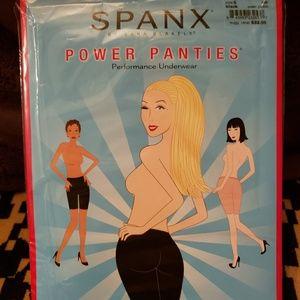 Black Spanx Power Panties by Sara Blakely NWT